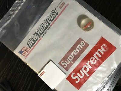 Supreme Newspaper ,Sticky Note Pad And Bouncy Ball
