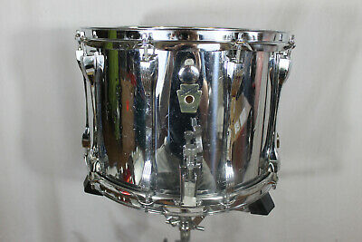 "Early 1980's Ludwig ""chrome over wood"" 10""x14"" maple snare drum  MADE IN CHICAGO"