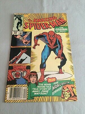 Marvel Comics THE AMAZING SPIDER-MAN #259 1984 Origin of Mary Jane FN/VF