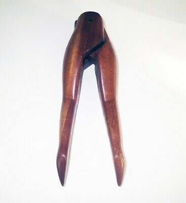 Antique NAUGTY EROTIC - Hand Carved Wood FIGURAL NUT CRACKER