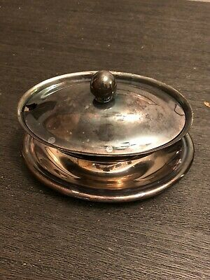 Reed & Barton Silver Soldered saucer bowl