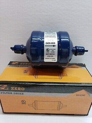 "Garrison / Zero 3/8""  Sweat, ODF Hermetic Liquid Line Filter Drier, 5 CU. In. -"