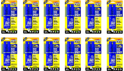 Super Glue Super Glue SY-SS12 Delayed Set Epoxy Adhesive, 12-Pack(Pack of 12)