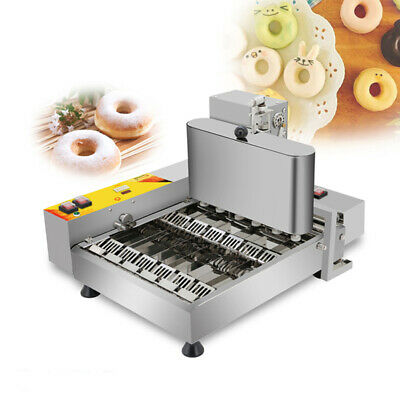 6 Rows Mini Automatic Donut Machine Doughnut Maker Frying Machine for Commercial