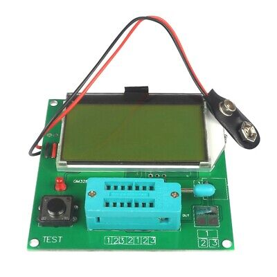 LCD GM328A Transistor Tester ESR Meter Frequency Square Wave Generator P1E7