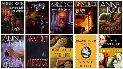 The Vampire Chronicles Series (1 - 13) by Anne Rice  (English)