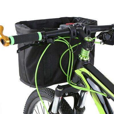 1xBicycle Basket Children Bike Plastic Hanging Front Handlebar Carrier  BH