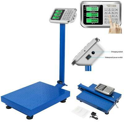 Digital Weight Price Scale 660LB/300KG Computing Food Meat Scale Produce Heavy