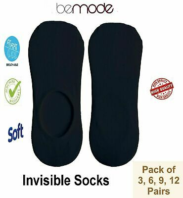 Women Men No Show TRAINER SOCKS INVISIBLE Ankle Liner Cotton Sports Free P&P