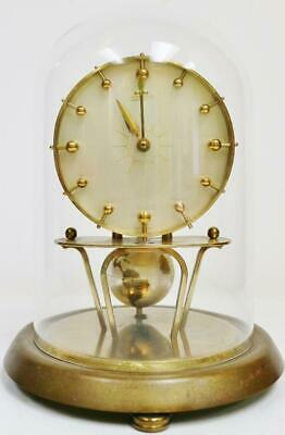 Rare German 400 Day Universe Kaiser Anniversary World Globe Torsion mantel Clock