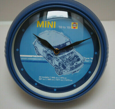 Official Haynes Mini Wall Clock 1959 - 1969 All Models Brand New Boxed