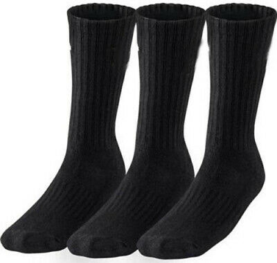 12 Pairs Mens Industrial Crew Boot Work Socks Thick Heavy Duty 6-11 & 4-7 lot