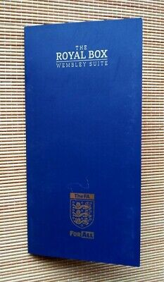 The Royal Box Wembley Suite  England vs Bulgaria Euro Qualifier 2020 with ticket