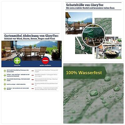 Garden Table Cover Waterproof Protection a Patio Cover Large 250cmx210cmx90cm