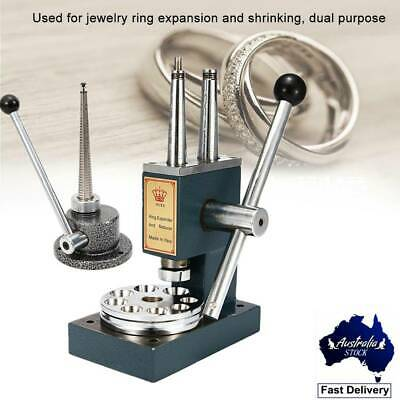 Jewelry Ring Reducer Size Stretcher Enlarger Jeweler Mandrel Tool