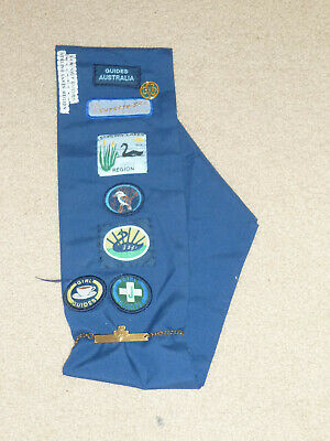 Girl Guides Brooch And Badges