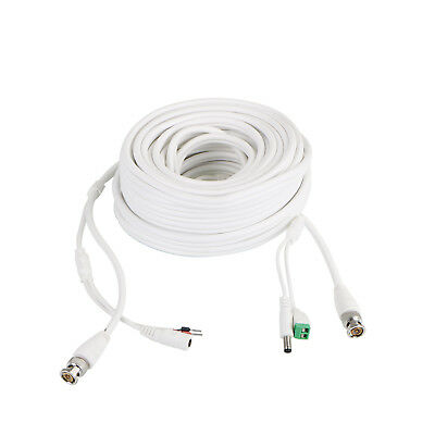 30M RS485 BNC 2IN1 Cable For DC CCTV Security Video Camera DVR Data Power