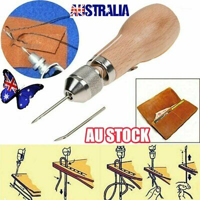 Speedy Stitcher Sewing Awl Tools Kit for Leather Sail & Canvas Heavy Repair NW