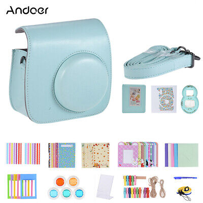 Andoer 14 in 1 Instant Camera Accessories Kit for Instax Fuji-film Mini 8/9 A1A8