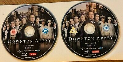 Downton Abbey - Series 1 (Blu-ray, 2010) DISC ONLY FREE SHIPPING