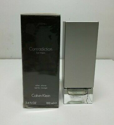 Calvin Klein Contradiction After Shave Lotion 100ML Splash (NO SPRAY) New & Rare