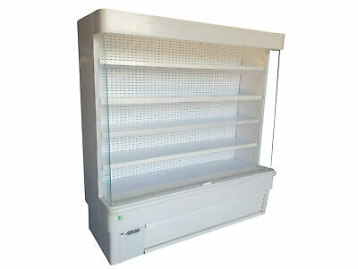 Framec Commercial Refrigerated Multideck/Open Front Tiered Display Fridge (1.9m)