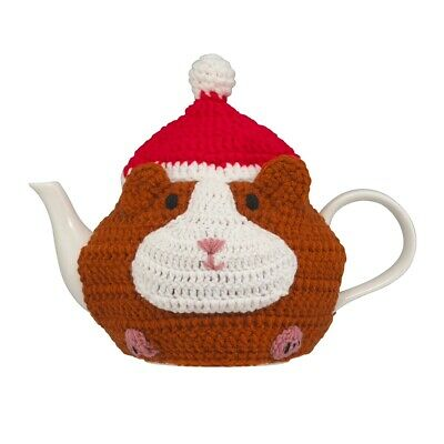 Bnwt Cath Kidston Pets Party Christmas Tea Cosy Guinea Pig Hamster Mouse Cozy