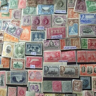 BRITISH EMPIRE/ COMMONWEALTH. About 400 Mint & Used good Quality Stamps.