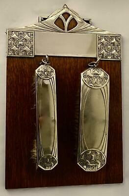 WMF Secessionist Art Nouveau Hanging Brush Assembly