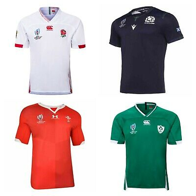 Home 2019 Rugby Shirts For Ireland, Wales & England S-5Xl World Cup Jerseys Rwc