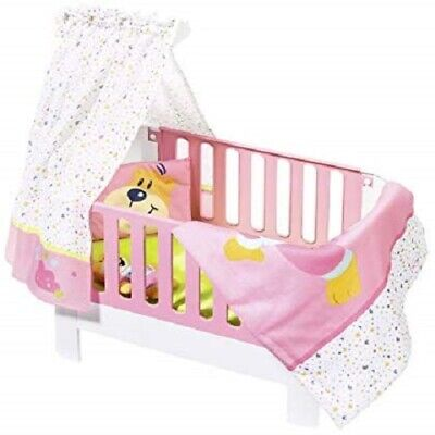 Zapf Creation Baby Born Magic Bed Heaven Toy Playset For 43cm Dolls with Sounds