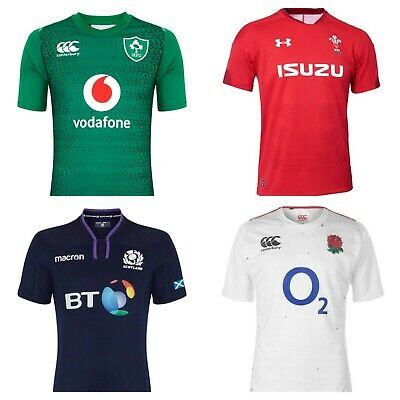 2019 Rugby Shirts For Ireland, Scotland, Wales & England S-3Xl Jerseys