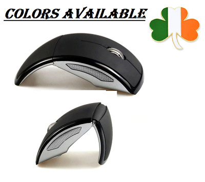 Wireless Computer Mouse Foldable 3 Buttons Optical Mouse High Quality Fashion