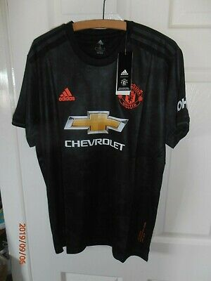 New with Tags Large 2019/2020 MANCHESTER UNITED THIRD 3RD Away Shirt - FREE Post