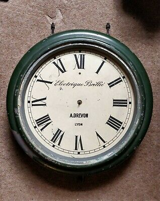 Rare Early Brillie Electric Dial Clock