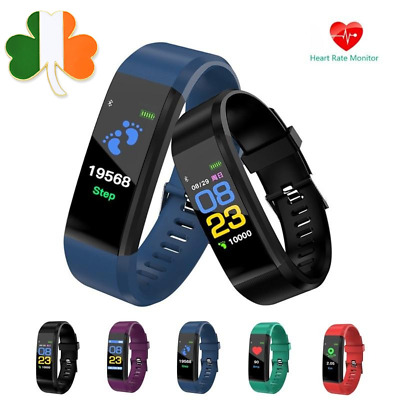 Smart Watch Wrist Band Heart Rate Blood Pressure Monitor Sleep Monitor Android