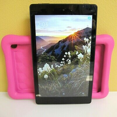 """Amazon Kindle Fire HD 8 Kids Edition Tablet, 8"""", 32 GB - Pink PARTS ONLY!"""