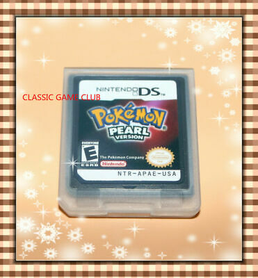 Pokemon:Pearl Version (Nintendo DS, 2007)  Game Only for DS / DSi / 3DS XL
