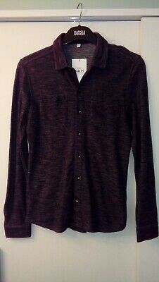 New Boys Black Mix Marks And Spencer Long Shirt /Top Age 11/12 Years