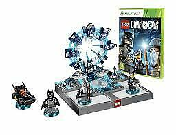 Lego Dimensions Starter Pack Minifigures and portal for Xbox 360 VGC COMPLETE