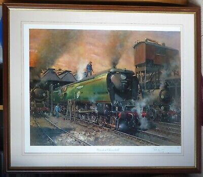 "Terence Cuneo ""Winston Churchill"" print, signed limited edition, framed"