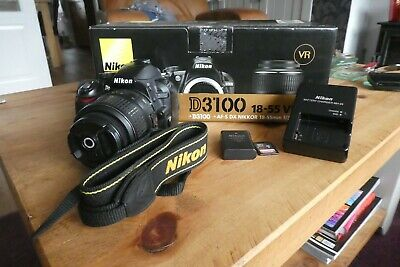 NIKON D3100 14.2MP DIGITAL CAMERA VR18-55mm LENS WITH BOX VERY GOOD CONDITION