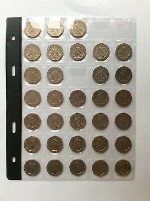 32 Different Years 20p Coins 1982 to 2016  For The Collector