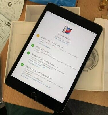 Apple iPad Mini (5th Generation)64GB, Wi-Fi, 7.9in - Space Grey - Apple Warranty