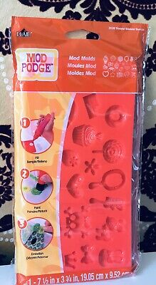Mod Podge Molds - Trinkets - NEW