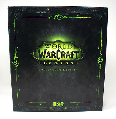WOW Legion ™ Collector's Edition LEER EMPTY BOX World of Warcraft Blizzcon