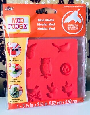 Mod Podge Molds - Nature - NEW