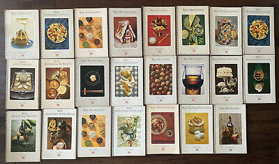 1969/1970's Time Life Foods of the World Spiral Bound 23 Volumes