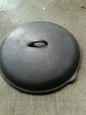 Red Mountain #12 cast iron lid  1930's-1940's