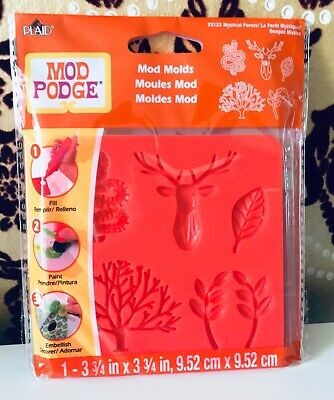 Mod Podge Molds - Mystical Forest  - NEW